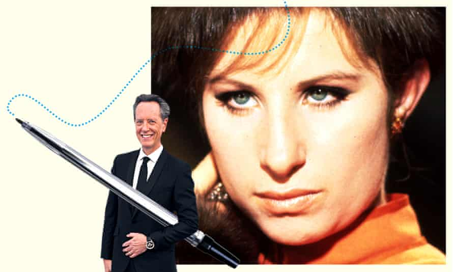 Richard E Grant wrote to Barbra Streisand when he was a boy