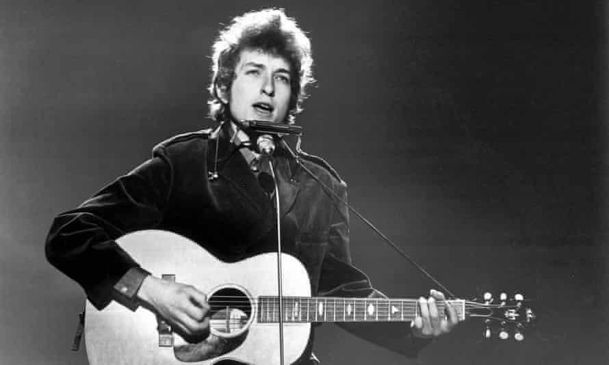 Bob Dylan … a genius acknowledged.