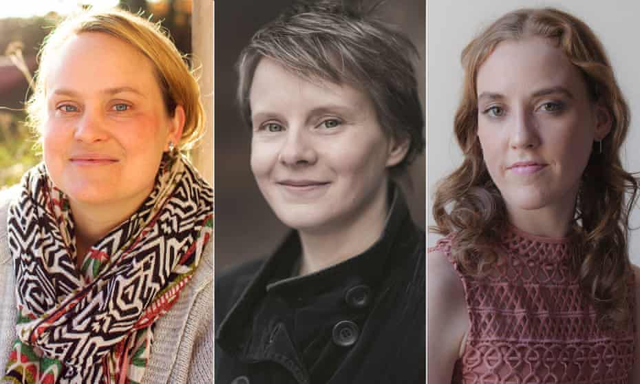 Katy Moran, Bridget Collins and Louise O'Neill.