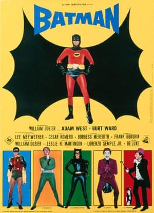A poster for Leslie H. Martinson's 1966 film Batman: The Movie