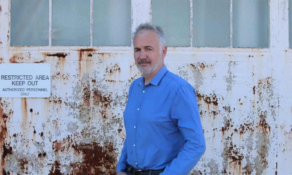 Julian Borger at Guantanamo.