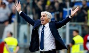 Gian Piero Gasperini redesigned his attack for Atalanta's visit to Lazio in Serie A on Saturday.