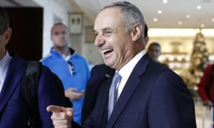 Major League Baseball commissioner Rob Manfred and MLBPA hear Tony Clark have the last laugh as they agreed to keep labor peace and amicably divide baseball's massive revenues.