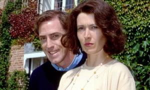 Julia Davis and Rob Brydon in Human Remains