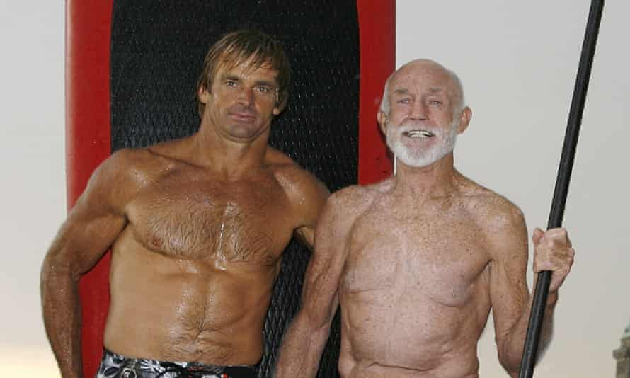 'There's so much stigma and weirdness around being older. Get over it – and keep moving': Laird Hamilton with his friend Don Wildman.