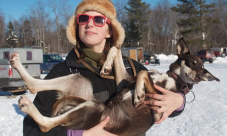 'Being with dogs and dogsledding makes writing feel fake in a way that's a great comfort to me.'