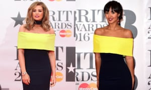 Miss! Jessica Wright and Maya Jama.