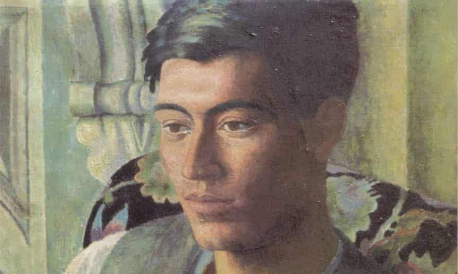 A portrait of Frank Prewett, 1920, by the artist Dora Carrington.
