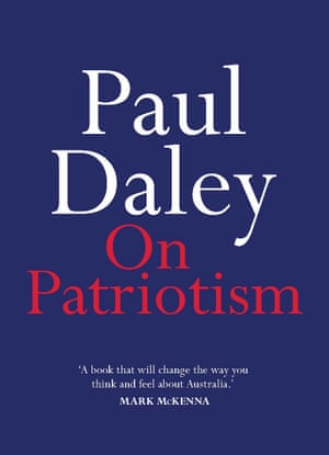 Cover of On Patriotism by Paul Daley