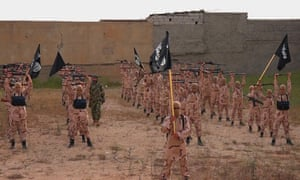 Islamic State exercise training camp, northern Iraq.