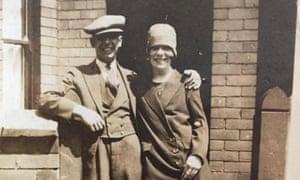 Hilda Churchill avec son mari en 1929.