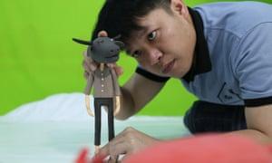 Lao artist Souliya Phoumivong
