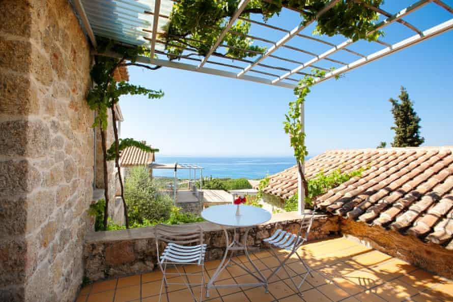 Notos Hotel, Kardamyli, Greece