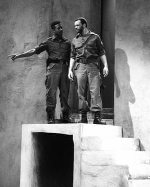 Clarke Peters in Othello
