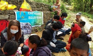 A team of citizen volunteers provided needed health and recovery support to villages affected by the 2015 earthquake that ravaged Nepal. Climate resilience is partly about ensuring glacial melt and landslides are less of a threat to human populations.