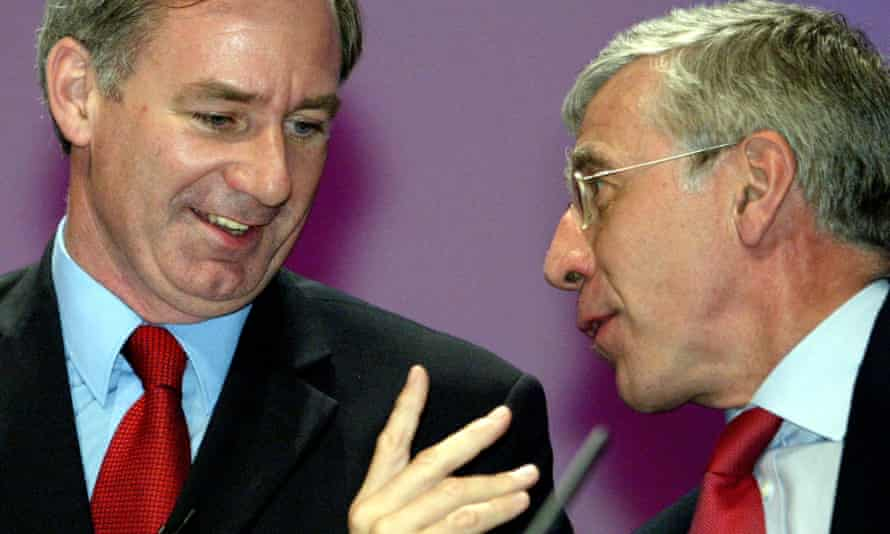 Geoff Hoon, then defence secretary, and Jack Straw, foreign secretary, in 2003.
