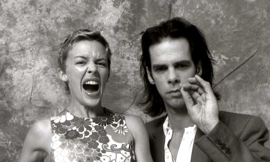 Kylie Minogue and Nick Cave, 1996.