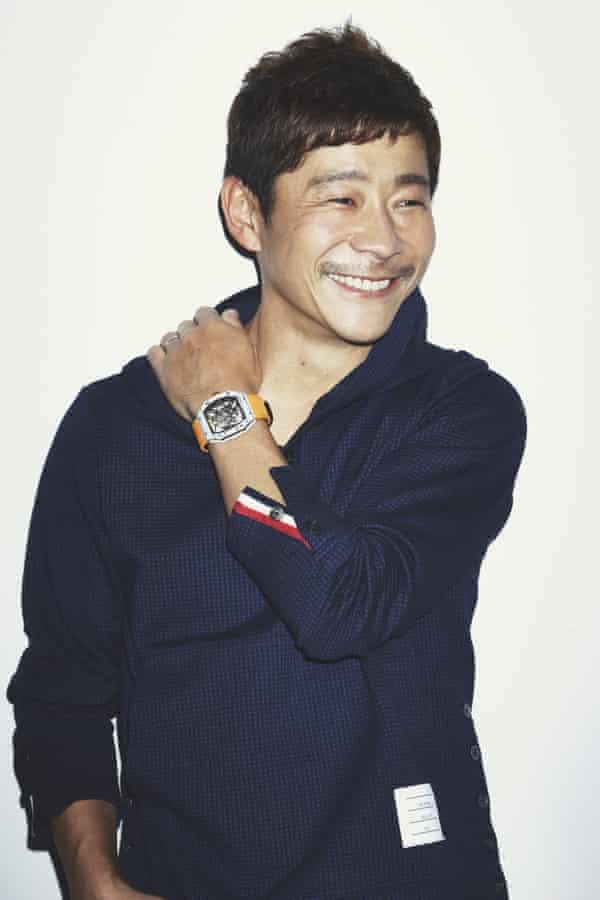Entrepreneur Yusaku Maezawa, the buyer of the Basquiat painting.