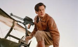 Leonardo DiCaprio in The Aviator.