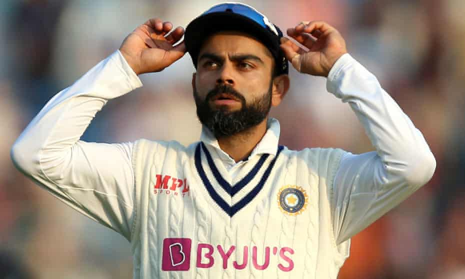 Virat Kohli found himself in the field on day one after England bowled India out for 78