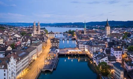 Zurich in Switzerland. The Chinese agents can enter the country without official status.