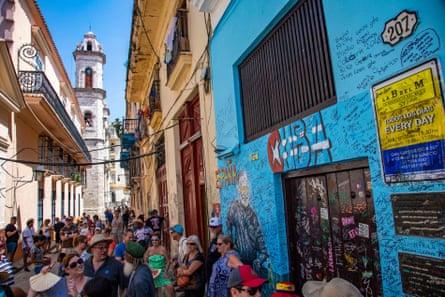 La Bodeguita del Medio in Havana.