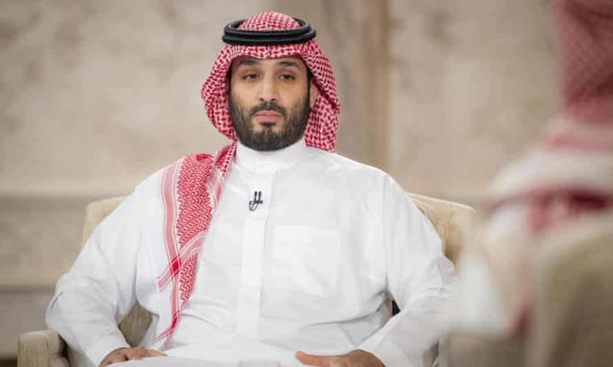 Crown Prince Mohammed bin Salman, who US intelligence agencies have concluded was responsible for ordering the murder of Khashoggi.