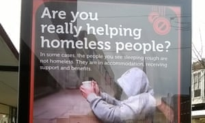 The Gloucester council homelessness advert