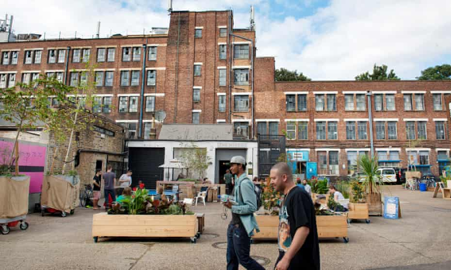 the Bussey Building arts complex in Peckham, south London.