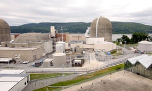Indian Point Energy Center in Buchanan, New York, is among the oldest nuclear power plants still in operation.