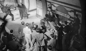 Jack Hulbert, left, and Ralph Richardson in 'Alias Bulldog Drummond' (aka Bulldog Jack) at Shepherd's Bush studios (1935). Could you become one of those peering on?
