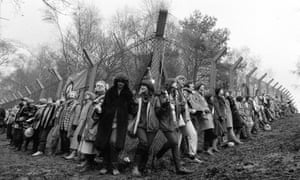 """Greenham Common, 1980. """"I love comrades who don't dominate meetings or movements, or think they have all the answers."""""""