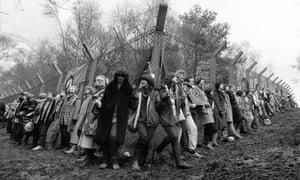 Greenham created an alternative world of unstoppable women. It changed lives ... . Photograph: PA