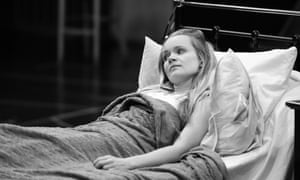 Clare Louise Connolly in The Exorcist at Birmingham Rep.