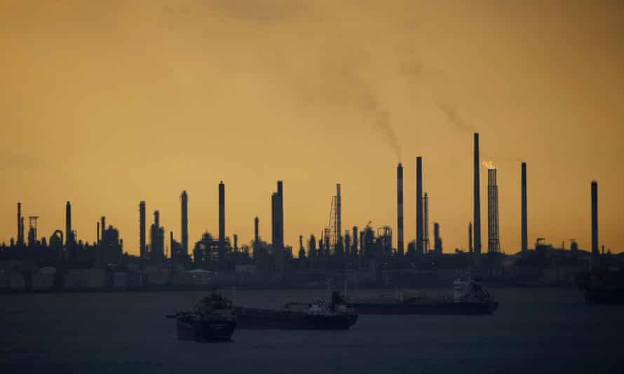 Shell's Pulau Bukom oil refinery in Singapore.