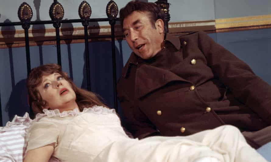 June Whitfield with Frankie Howerd.