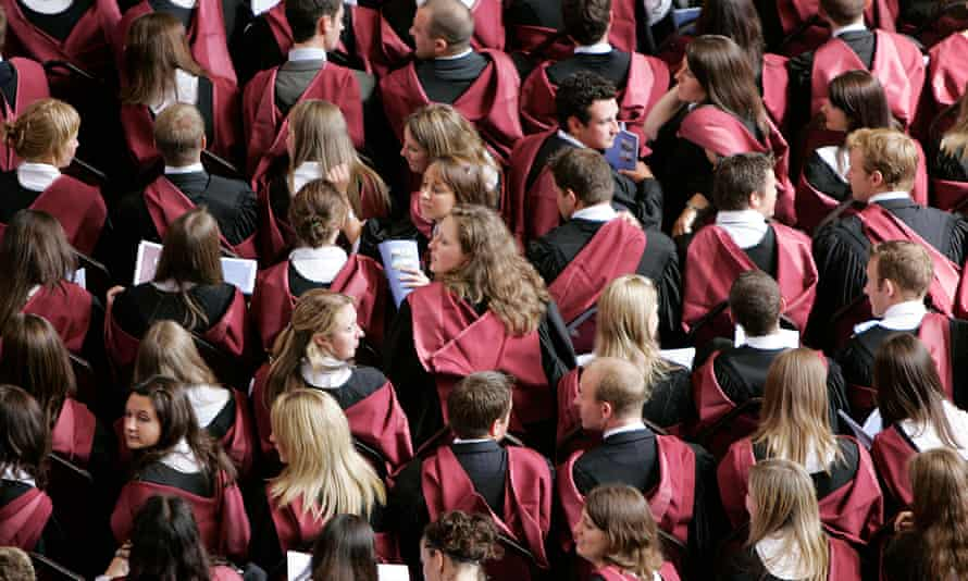 Graduation day at Bristol University