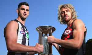 Scott Pendlebury and Dyson Heppell