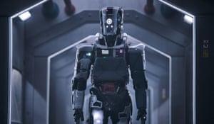 Still of robot from I Am Mother