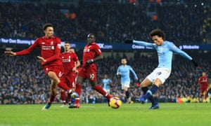 Leroy Sané scored the winner when the two title rivals met in February.