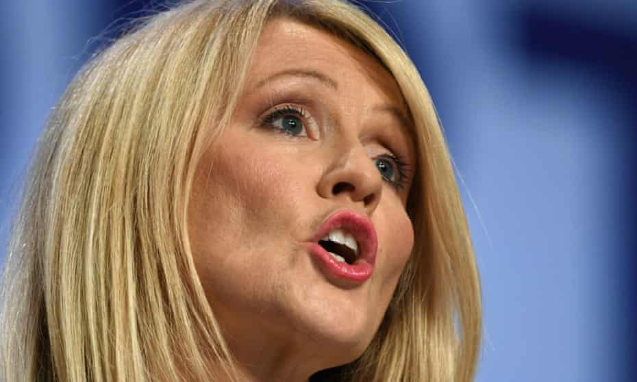 The work and pensions secretary, Esther McVey