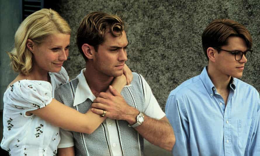 Gwyneth Paltrow, Jude Law and Matt Damon in The Talented Mr Ripley (1999).