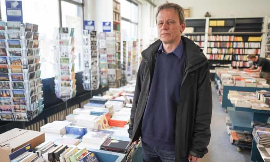 Thorsten Willenbrock, owner of the bookshop Kisch & Co