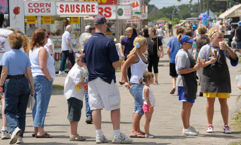 Monroe county fair in Monroe, Michigan, is a highlight of the county's summer.