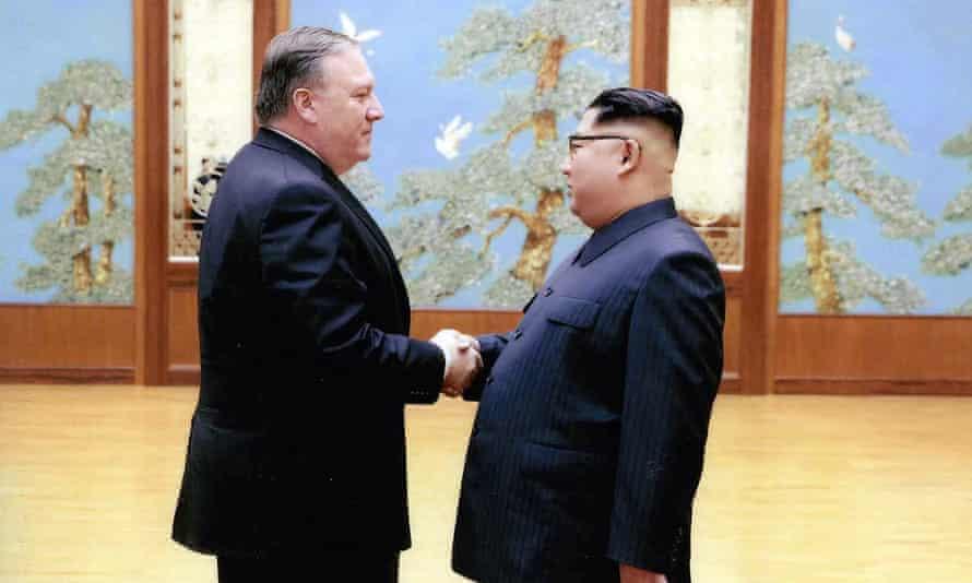 Pompeo met Kim in Pyongyang over Easter.