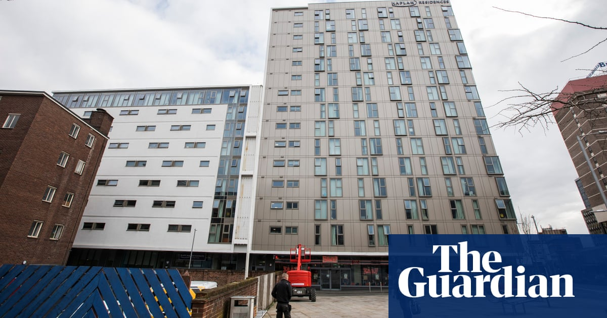 Student buildings still covered in Grenfell-style cladding   Education   The Guardian