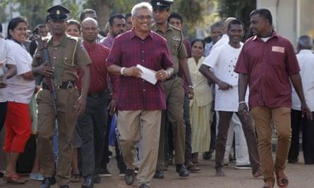 Presidential candidate Gotabaya Rajapaksa