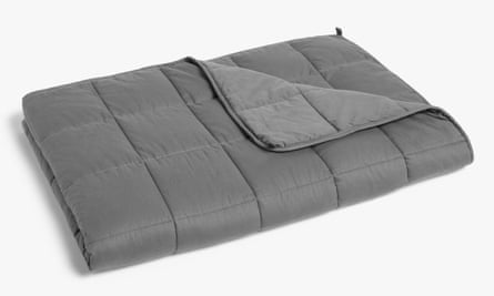 A John Lewis weighted blanket.