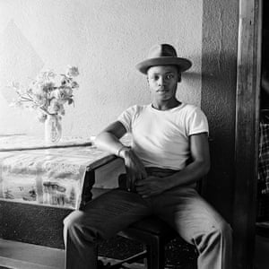 Young man at home, White City, Jabavu, Soweto, 1972.