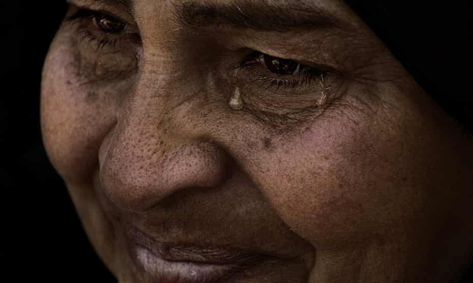 Faces of a revolution ... Safeya's Tears, 2012, by Laura El-Tantawy